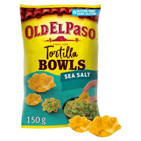 Old El Paso Tortilla Bowls Sea Salt