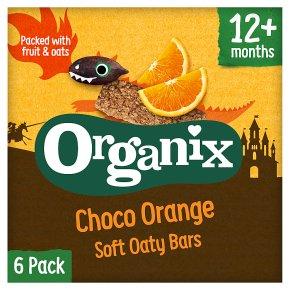Organix Choco Orange Soft Oaty Bars