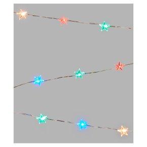 John Lewis 20 Star Multicolour Lights
