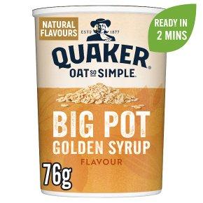 Quaker Oat So Simple Golden Syrup Porridge Big Pot