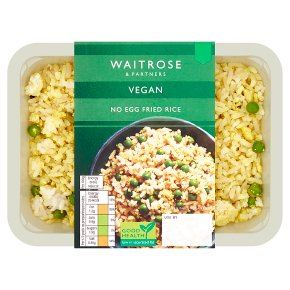 Waitrose Vegan No Egg Fried Rice