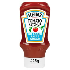 Heinz No Added Sugar Tomato Ketchup