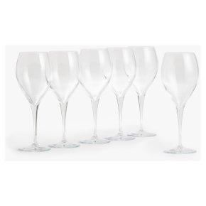 John Lewis Tulip Red Wine Glasses 600ml