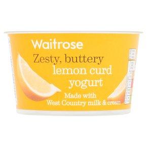 Waitrose Lemon Curd Yogurt