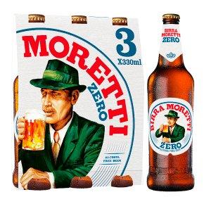 Birra Moretti Zero Alcohol Free Italy