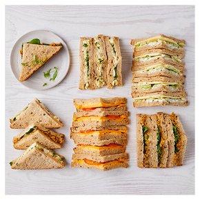 Vegetarian Sandwich Selection, 20 pieces