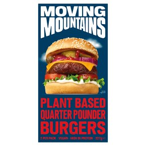 Moving Mountains 2 Plant-Based 1/4lb Burgers