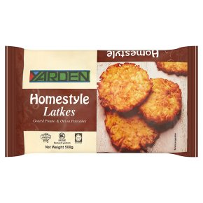Yarden homestyle potato latkes