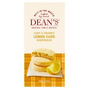 Dean's shortbread lemon curd
