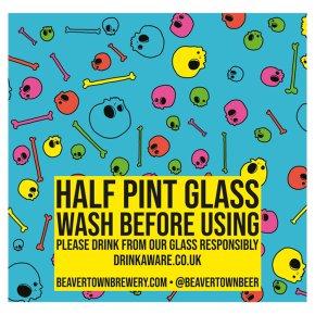 Beavertown Half Pint Glass