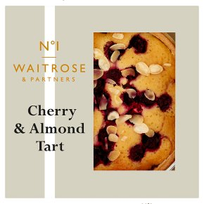 No.1 Morello Cherry & Almond Tart