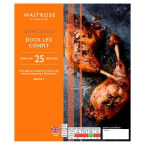 Waitrose Slow Cooked Duck Leg Confit