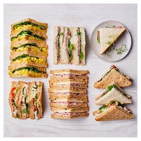 Meat Sandwich Selection, 20 pieces