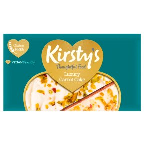Kirsty's Luxury Carrot Cake