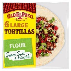 Old El Paso 6 Super Soft Large Flour Tortillas