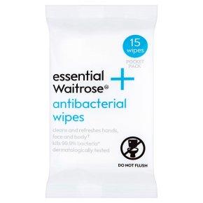 Essential Antibacterial Wipes