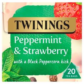Twinings Peppermint & Strawberry 20 Tea Bags