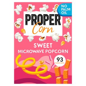 Proper Corn Sweet Popcorn Microwavable