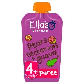 Ella's Kitchen Pears Nectarines & Guava