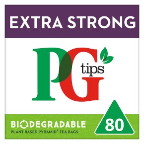 PG Tips Extra Strong 80 Pyramid Bags
