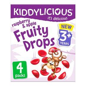 Kiddylicious Fruity Drops Raspberry