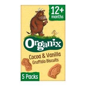 Organix Cocoa & Vanilla Biscuits