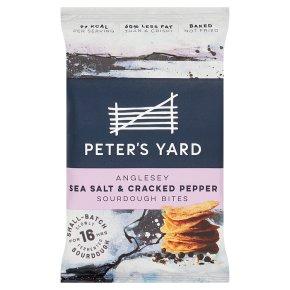 Peter's Yard Sea Salt & Pepper Sourdough Bites