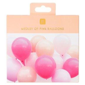 TT Rose Balloons Pinks 16pk