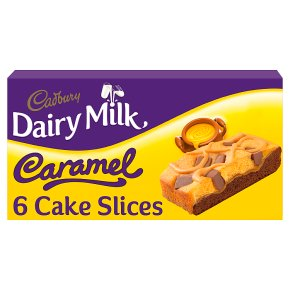 Cadbury Dairy Milk Caramel Cake Slices