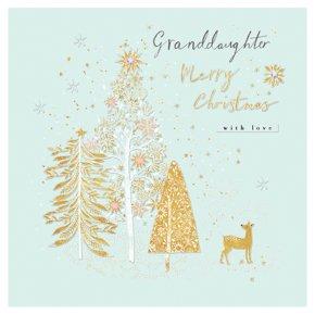 Granddaughter Deer Card