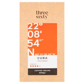 Three Sixty Cuba Coffee Beans
