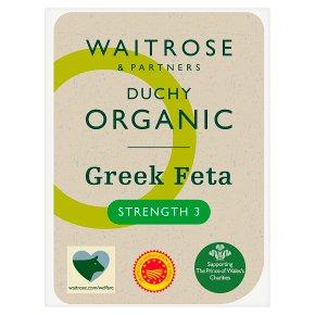 Waitrose Duchy Greek Feta Strength 3