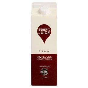 Benefit Juice Cleanse Prune Juice +Multivitamins