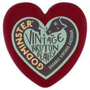 Godminster Organic vintage cheddar heart 200g