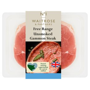 No.1 Free Range Unsmoked Gammon Steak