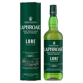 Laphroaig Lore Islay Single Malt Whisky