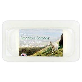 Waitrose British Soft Goats' Cheese