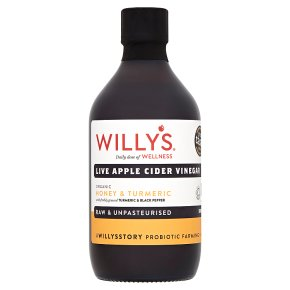 Willy's Organic Live Apple Cider Vinegar Honey & Turmeric