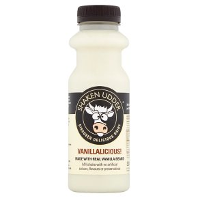 Shaken Udder Vanillalicious! Milkshake