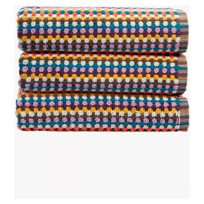 Christy Carnaby Stripe Hand Towel Multi Colour