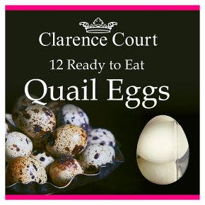Clarence Court Ready to Eat Quail Eggs