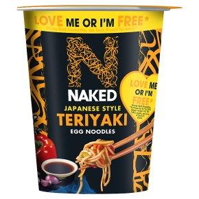 Naked Noodle Japanese Teriyaki