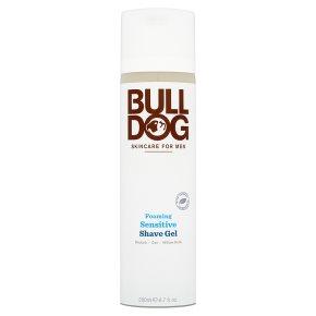 Bull Dog Foaming Sensitive Shave Gel