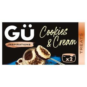 Gü Inspirations Cookies & Cream Desserts