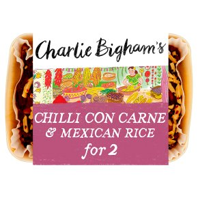 Charlie Bigham's Chilli Con Carne & Mexican Rice