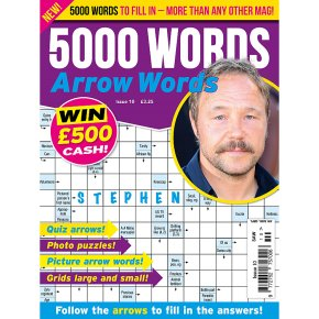 5000 WORDS ARROWORDS