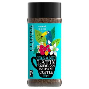 Clipper Fairtrade Latin American Instant Coffee