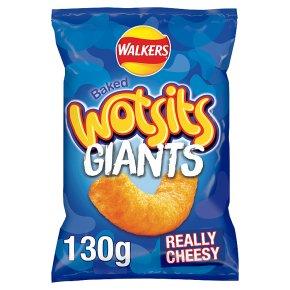 Wotsits Giants Really Cheesy