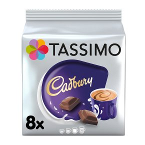 Tassimo Cadbury Hot Chocolate Pods 8s