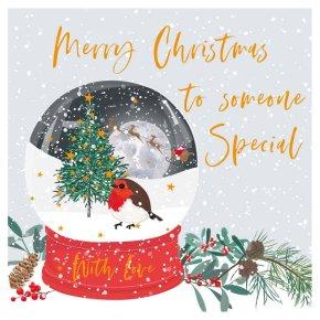 Someone Special Snowglobe Card
